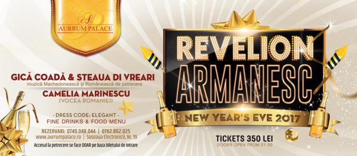 Bilet Aurrum Pallace Revelion Armanesc