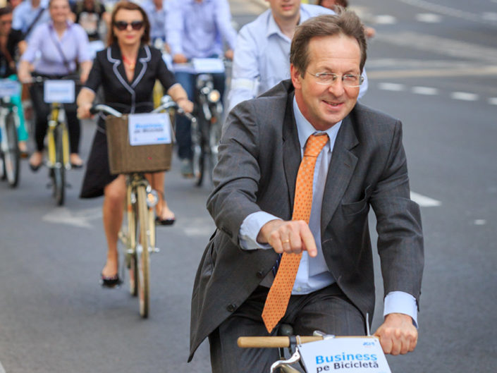 Business pe bicicleta - 2014