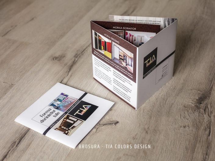 grafician brosuri, grafician flyere