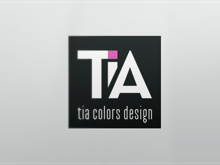 logo tia colors design